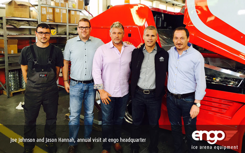Exclusive North-American distribution and service partner pays visit to engo